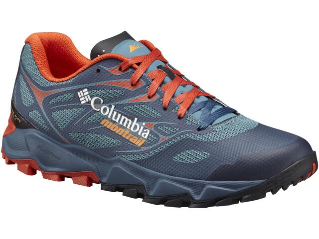 Columbia Trans Alps F.K.T. II Shoes Men Canyon Blue/Orange Blast
